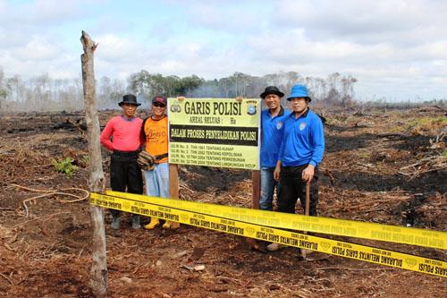 Polri Tetapkan Tujuh Korporasi Asing Tersangka Pembakaran Hutan