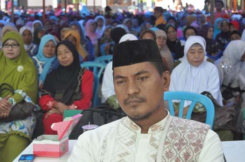 Jelang Pilkada, Ketua PCNU Kabupaten Way Kanan di Provinsi Lampung, KH. Nur Huda, menegaskan bahwa NU bersikap netral. | Rilis/Jejamo.com