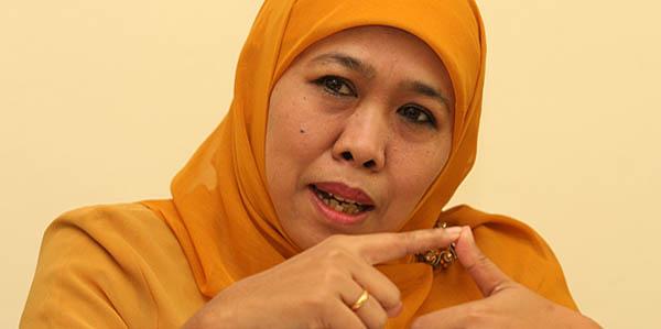 Menteri Khofifah Dukung Hukum Kebiri Pelaku Pedofil