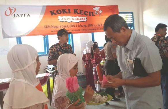Kampanye Gizi Japfa4Kids, 25 Siswa di Jabung Jadi Dokter Kecil