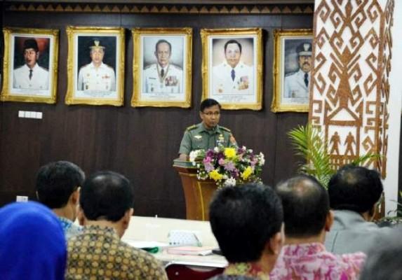Korda Kemhan RI Provinsi Lampung Kolonel Kaveleri Robert Owen Tambunan | Widya/jejamo.com