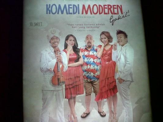 "Film Komedi Moderen Gokil ""Lucu Abis"""