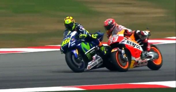 Rossi vs Marquez | ist