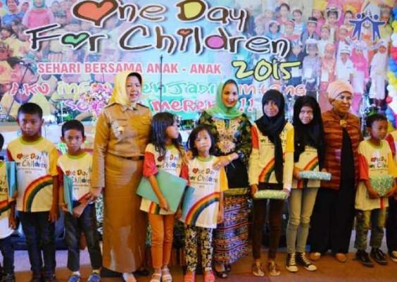 Pemprov Lampung Beri Bantuan Rp1 juta kepada 5.470 Anak Miskin
