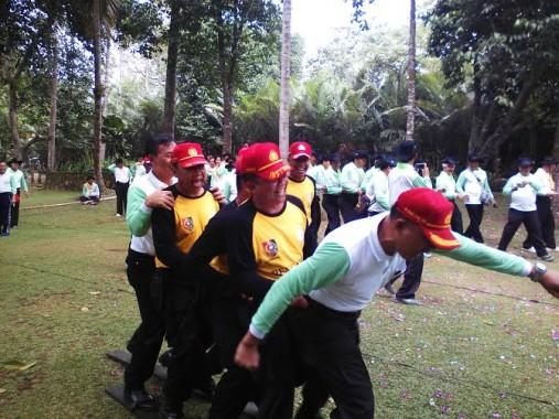 SPN Polda Lampung Gelar Outbound Revolusi Mental di Lembah Hijau