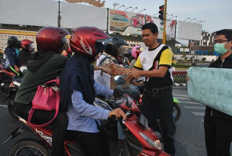 PKS Bandar Lampung Galang Dana untuk Korban Bencana Asap