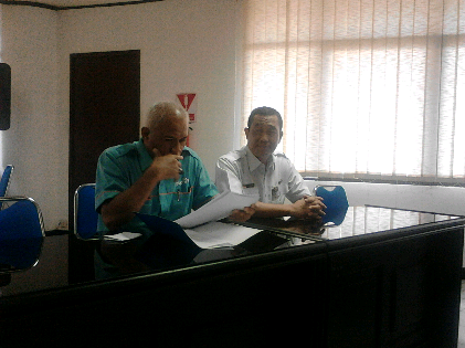 Pihak PTPN VII memberikan klarifikasi menganai tudingan karyawan harian lepas |Sugiono/jejamo.com