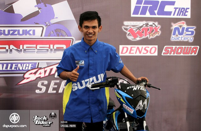 Pebalap asal Lampung Andreas Gunawan | ist