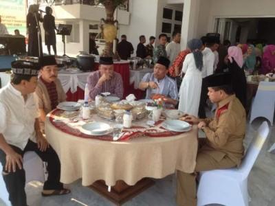 Pengajian Gubernur Lampung di Mahan Agung, Minggu, 4/10/2015 | Widya/jejamo.com