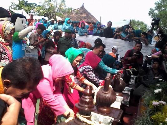 Aprilani Yustin Hadiri Acara Hari Cuci Tangan Sedunia di Museum Lampung