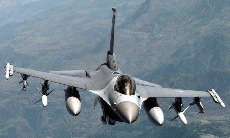 Jet F-16 Amerika Rusak Diserang Senjata Ringan di Afghanistan