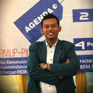 Presiden BEM Unila Bambang Irawan. | ist
