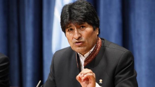 Presiden Bolivia Evo Morales | ist