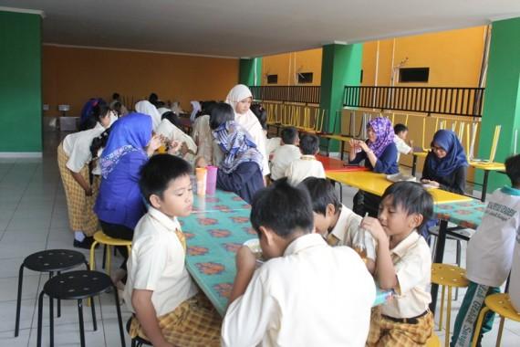 SD Global Surya Bandar Lampung Gulirkan Program Sarapan Sehat