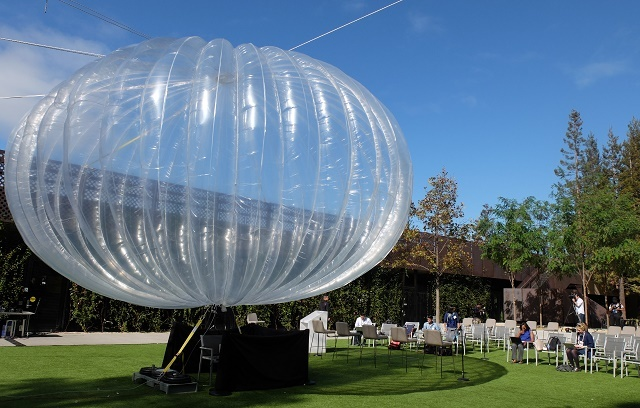 Balon internet google bernama Project Loon | Dok Google