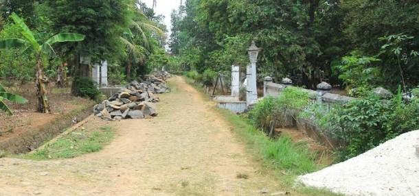 Warga Trimurjo Lampung Tengah Keluhkan Pembangunan Drainase