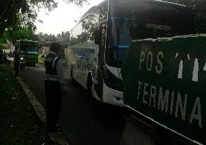 Dishub Bandar Lampung Razia Bus Tak Layak Jalan