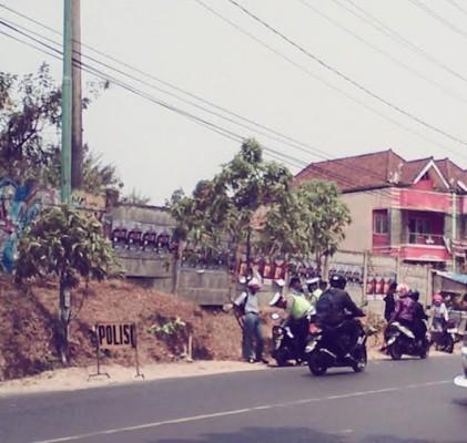 Foto: Satlantas Polresta Bandar Lampung Gelar Razia Kendaraan