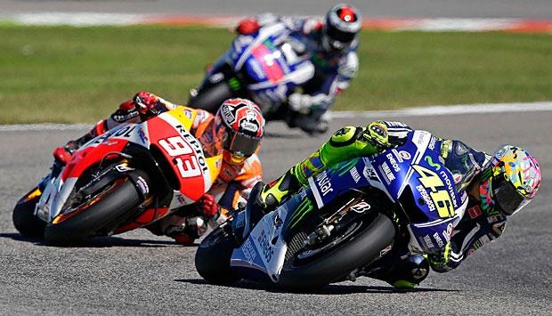 Rossi dan Marquez 2015