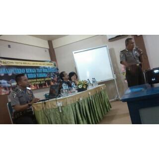 Siswa SMA IT Ar Raihan Bandar Lampung Dididik Disiplin Berkendara