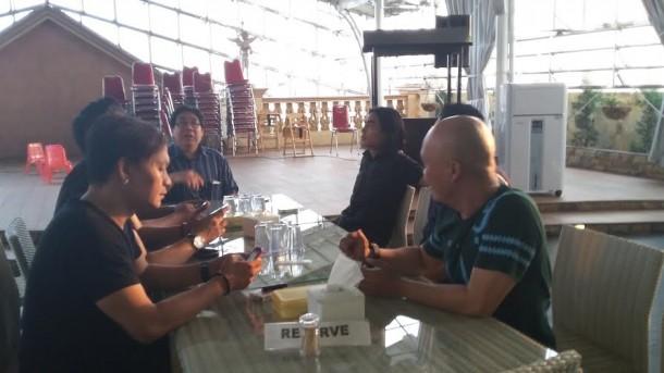Setia Band bersantai di Sky Garden, Metro | Nizar/jejamo.com