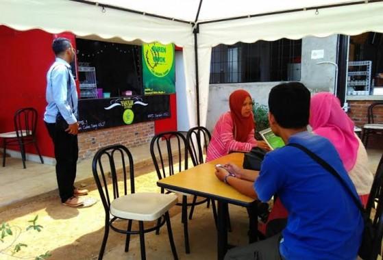 Sop Duren Ewok yang beralamat di Jalan Sultan Agung, Way Halim, Bandar Lampung, menyuguhkan nikmatnya olahan sup durian dengan harga terjangkau | Desi/jejamo.com