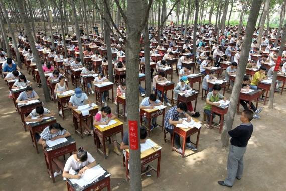 Mencontek Saat Ujian di Cina Bisa Dihukum 7 Tahun Penjara