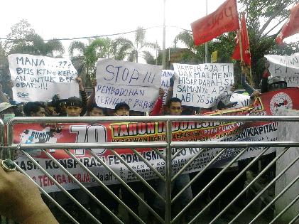 PTPN VII Anggap Demo Karyawan Harian Lepas Salah Alamat
