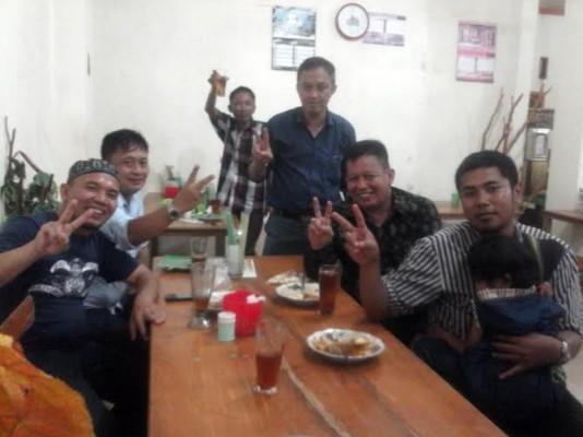 Yusuf Kohar Makan Malam dengan Warga Bandar Lampung