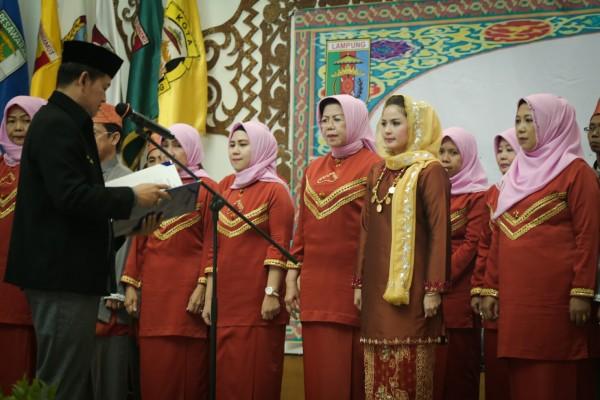 Dewan Pimpinan Wilayah LASQI Lampung Dikukuhkan