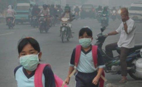 Waspadai berbagai penyakit yang disebabkan kabut asap. (Ilustrasi) | Jejamo.com