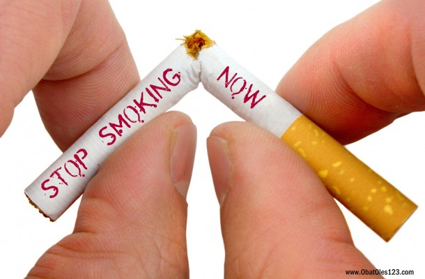Stop smoking now (Ilustrasi) | obatoles123.com