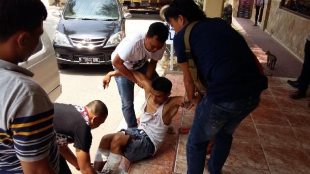 Pelaku Begal Lampung Tengah Tewas Diterjang Peluru Polisi