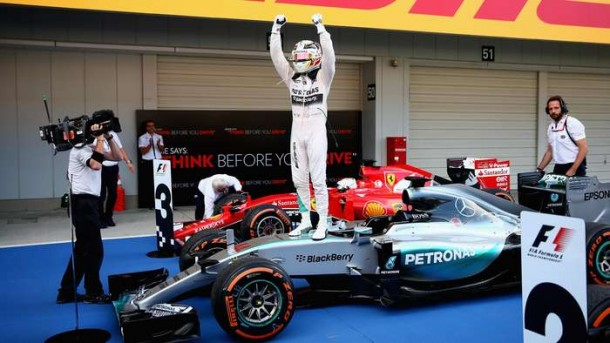 Lewis Hamilton Juarai GP Rusia