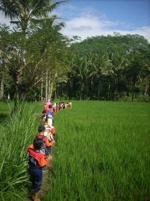 SMP YPI Lampung Timur menjadikan pertanian sebagai salah satu ekskul siswa (Ilustrasi).