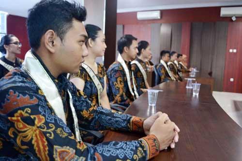 SMP IT Darul Ilmi Titip Dana Korban Kabut Asap ke PKPU Lampung