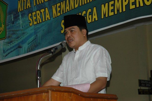Calon Wakil Bupati Lampung Tengah, Musa Ahmad. | Dok.
