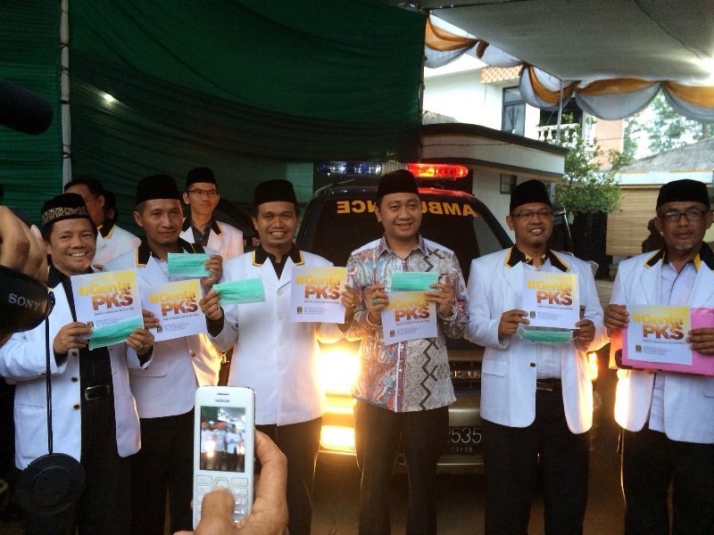 Ketua DPW PKS Lampung Lantik Agung Utomo