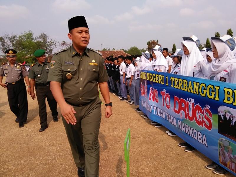 Duo Hakim Ikuti Salat Istisqa di Kota Metro Lampung