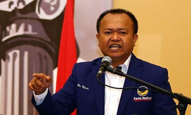 Sekretaris Jenderal Partai NasDem Patrice Rio Capella, Jadi Tersangka KPK