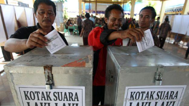 Pemilihan kepalo tiyuh (kepala desa) Kabupaten Tulangbawang Barat. (Ilustrasi) | Jejamo.com