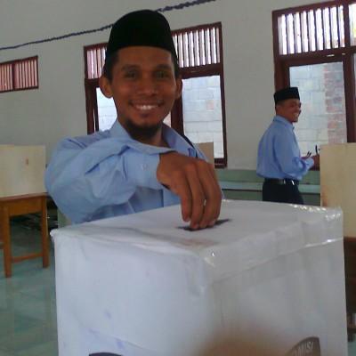 Keseruan Pesta Demokrasi di SMPIT Baitul Muslim