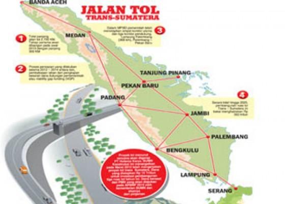 Jalan tol Trans Sumatera (Ilustrasi) | www.lampungprov.go.id