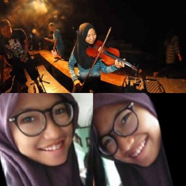 Ade Yulistiani Violis Cantik Lampung, Berkarya Hingga Malaysia