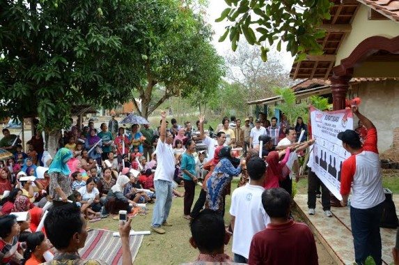 Aries Sandi Kampanye Dialogis di Negeri Katon