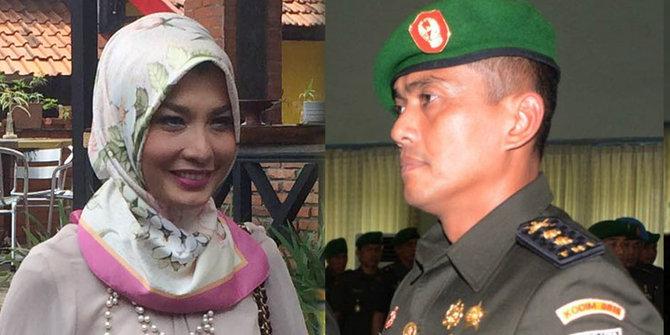 Arzeti Bilnina dan  Letkol Kav Rizeki Indra Wijaya | ist