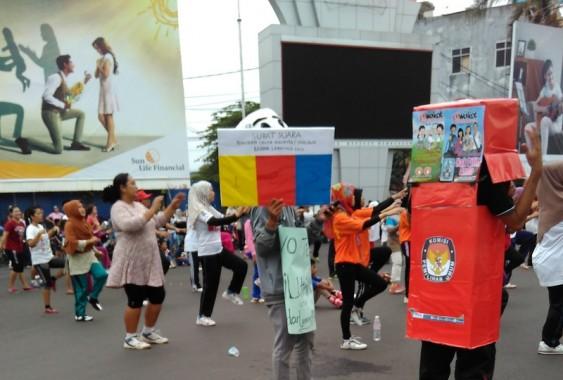 Reses, Anggota DPRD Bandar Lampung Handrie Kurniawan Jumpa Anak Muda