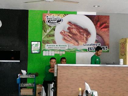 Bebek Goreng H Slamet Kedaton Bandar Lampung Pilihan Wisata Kuliner