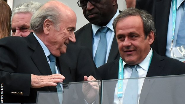 Blatter dan Platini | Getty Images