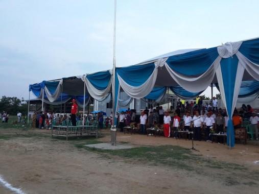 Bupati Sujadi Saddat Tutup Porkab Pringsewu II Tahun 2015